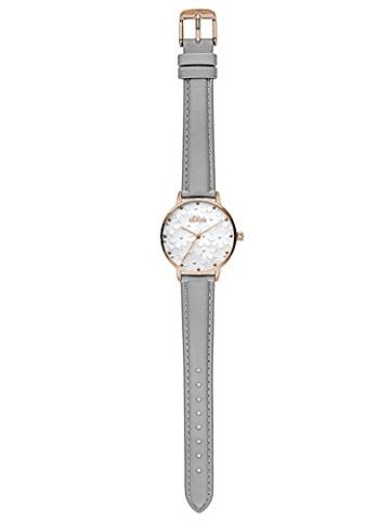 s.Oliver Damen Analog Quarz Uhr mit Leder Armband - 4