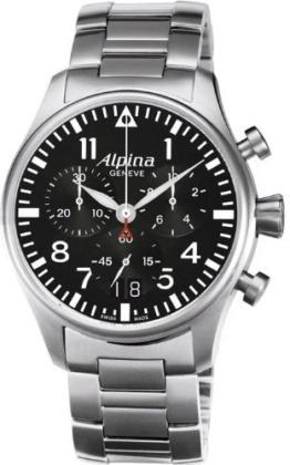 Alpina Geneve Startimer Pilot AL-372B4S6B Herrenchronograph Fliegeruhr - 1