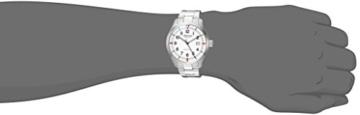 Alpina Männern Startimer 'Swiss Quarz Edelstahl Casual Uhr, Farbe: silberfarbene (Modell: al-240s4s6b) - 2