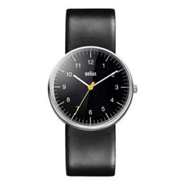 Braun Herren Analog Quarz Armbanduhr BN0021BKBKG - 1