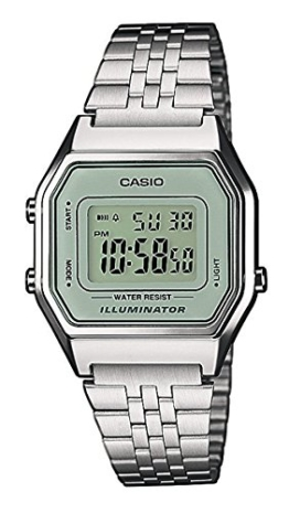 Casio Collection Damen Retro Armbanduhr LA680WEA-7EF - 1