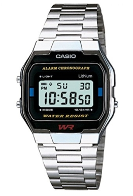 Casio Collection Unisex-Armbanduhr A163WA 1QES - 1