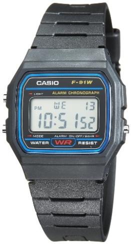 Casio Digitaluhr F-91W-1YEF - 1