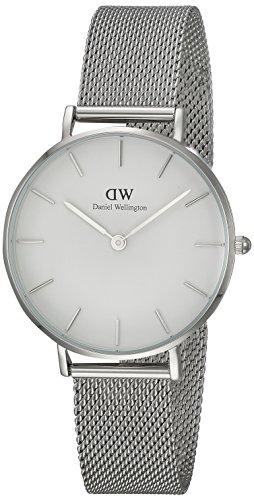 Daniel Wellington Unisex Erwachsene Digital Quarz Uhr mit Edelstahl Armband DW00100164 - 1