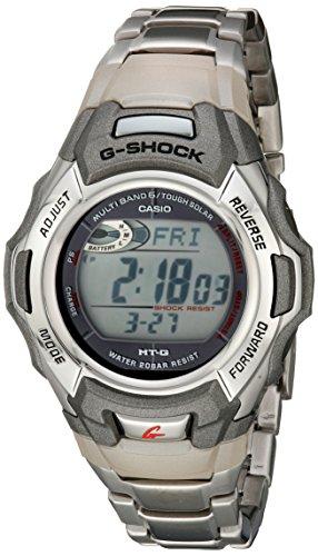 G-Shock MTGM900DA-8CR Herren-Sportuhr, solarbetrieben, Atomic, Edelstahl - 1