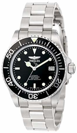 Invicta 8926OB Pro Diver Unisex Uhr Edelstahl Automatik schwarzen Zifferblat - 1