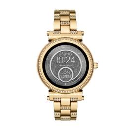 Michael Kors Damen Digital Uhr mit Edelstahl Armband MKT5023 - 1