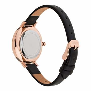 s.Oliver Damen Analog Quarz Uhr mit Leder Armband SO-3779-LQ - 3