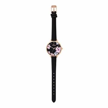 s.Oliver Damen Analog Quarz Uhr mit Leder Armband SO-3779-LQ - 5