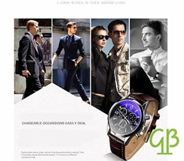 YiGo Quartz Analog Uhren - 2