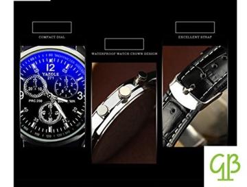 YiGo Quartz Analog Uhren - 3