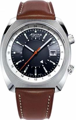 Alpina Geneve Startimer Pilot Heritage Automatic GMT AL-555DGS4H6 Herren Automatikuhr - 1