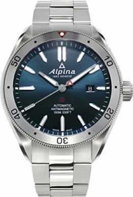 Alpina Schweizer Automatikuhr Alpiner 4 AL-525NS5AQ6B - 1