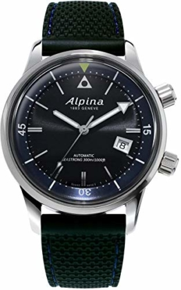 Alpina Seastrong Diver 300 Heritage Automatik Uhr, AL-525, Schwarz, 42mm, 30 atm - 1