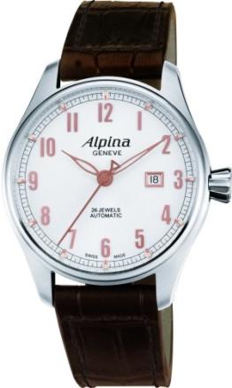 ALPINA STARTIMER Classic Herren 44MM AUTOMATIKWERK SAPHIRGLAS Uhr AL525SCR4S6 - 1