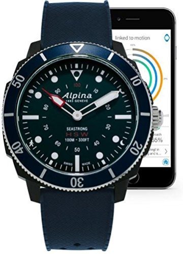Alpina Watch AL-282LNN4V6 Blau Smartwatch - 2