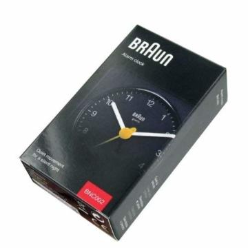 Braun BNC002 BKBK Quarzgesteuerte Batterie-Weckuhr, schwarz - 4