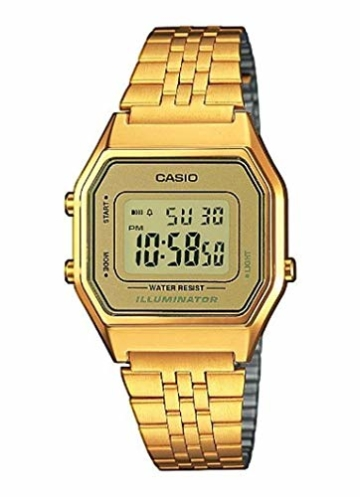 Casio Collection DamenRetro Armbanduhr LA680WEGA-9ER - 1