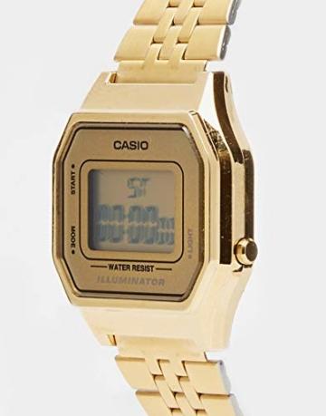 Casio Collection DamenRetro Armbanduhr LA680WEGA-9ER - 4