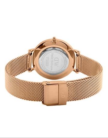 Daniel Wellington Unisex Erwachsene Digital Quarz Uhr mit Edelstahl Armband DW00100163 - 4