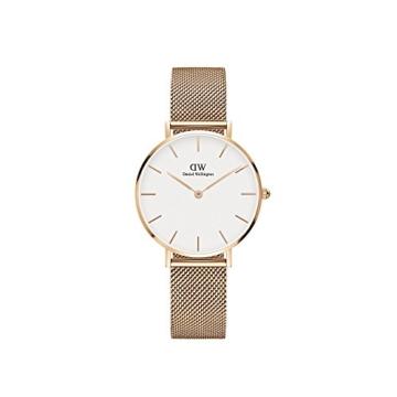 Daniel Wellington Unisex Erwachsene Digital Quarz Uhr mit Edelstahl Armband DW00100163 - 1