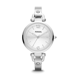 Fossil Damen Analog Quarz Smart Watch Armbanduhr mit Edelstahl Armband ES3083 - 1