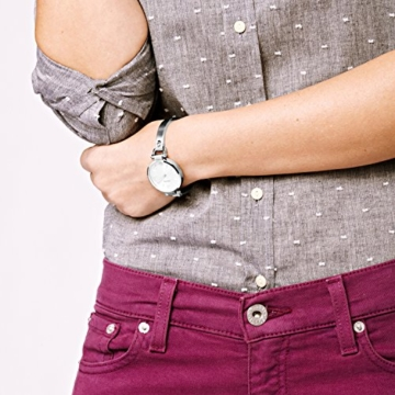 Fossil Damen Analog Quarz Smart Watch Armbanduhr mit Edelstahl Armband ES3083 - 4