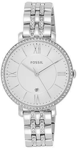 Fossil Damen Analog Quarz Uhr mit Edelstahl Armband ES3545 - 1