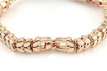 Gold Plated Armbanduhren Imitation von Diamant Uhren Elegante Rhombus Frauen Mädchen Damen Armbanduhr Geschenk für Freundin - 4