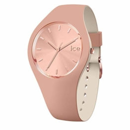 Ice-Watch - ICE duo chic Blush - Braune Damenuhr mit Silikonarmband - 016980 (Small) - 1