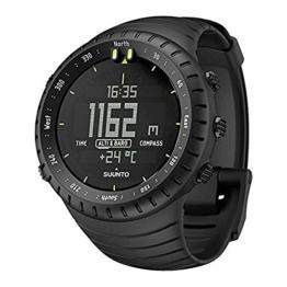Suunto Core All Black, Unisex Compass - Erwachsene, Tiefschwarz, Einheitsgröße - 1