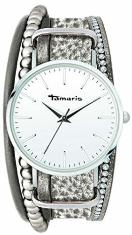 Tamaris Anna Armbanduhr Silber grau - 1