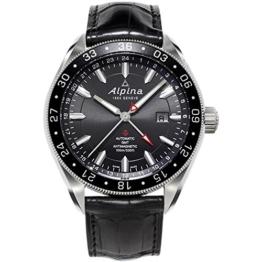 Alpina al550g5aq6al-550g5aq6–Uhr für Männer, Lederband schwarz - 1