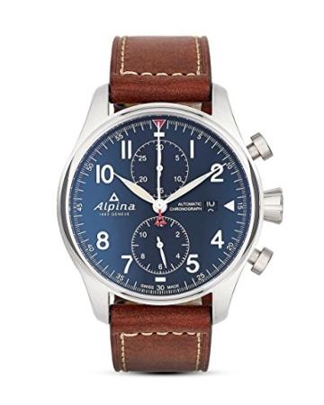 Alpina Schweizer Automatikchronograph Startimer Pilot AL-725N4S6 - 1
