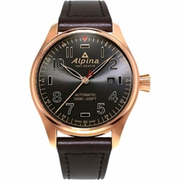 Alpina Startimer Pilot Herren-Armbanduhr 44mm Automatik AL-525GG4S4 - 1