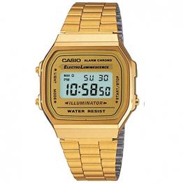 Casio Collection Unisex Retro Armbanduhr A168WG-9EF - 1