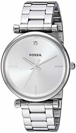 FOSSIL Damen Analog Quarz Uhr mit Edelstahl Armband ES4440 - 1