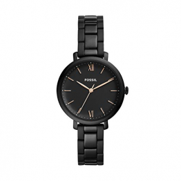 Fossil Damen Analog Quarz Uhr mit Edelstahl Armband ES4511 - 1