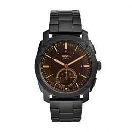 Fossil Herren Analog Digital Uhr mit Edelstahl Armband FTW1165 - 1