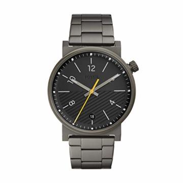 Fossil Herren Analog Quarz Uhr mit Edelstahl Armband FS5508 - 1