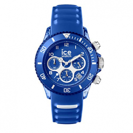 Ice-Watch - Ice Aqua Marine - Blau Herrenuhr mit Silikonarmband - Chrono - 012734 (Large) - 1