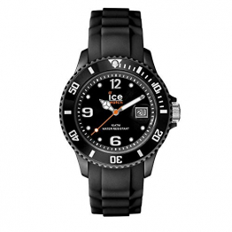 Ice-Watch - Ice Forever Black - Schwarz Damenuhr mit Silikonarmband - 000123 (Small) - 1