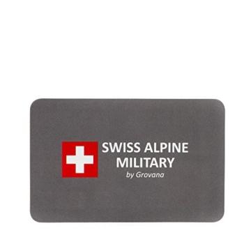 Swiss Alpine Military by Grovana Herrenuhr mit Lederband ETA 2836-2 Automatik Saphirglas 10 ATM DayDate 7090.2535SAM - 2