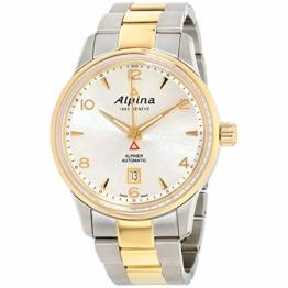 Alpina Alpiner Herren Automatikuhr Bicolor AL-525S4E3B - 1