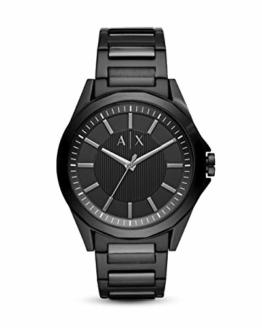 Armani Exchange Herren Analog Quarz Uhr mit Edelstahl Armband AX2620 - 1