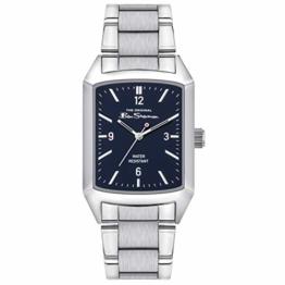 Ben Sherman Herren Analog Quarz Uhr mit Edelstahl Armband BS013USM - 1