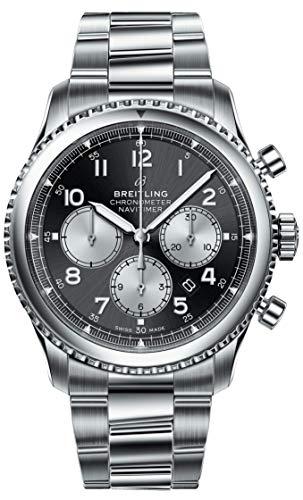 Breitling Black Dial Navitimer 8 Chronograph B01 Chronometer 43 AB0117131B1A1 - 1