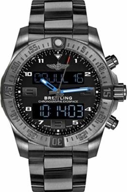 Breitling Exospace Armband Titan B55 Schwarz - 1