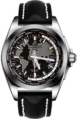 Breitling Galactic Unitime wb3510u4-bd94–435x Stahl automatische Herren-Armbanduhr - 1
