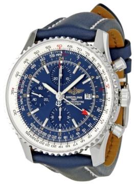 BREITLING Herren A2432212/C651Navitimer Welt Blau Zifferblatt Chronograph - 1